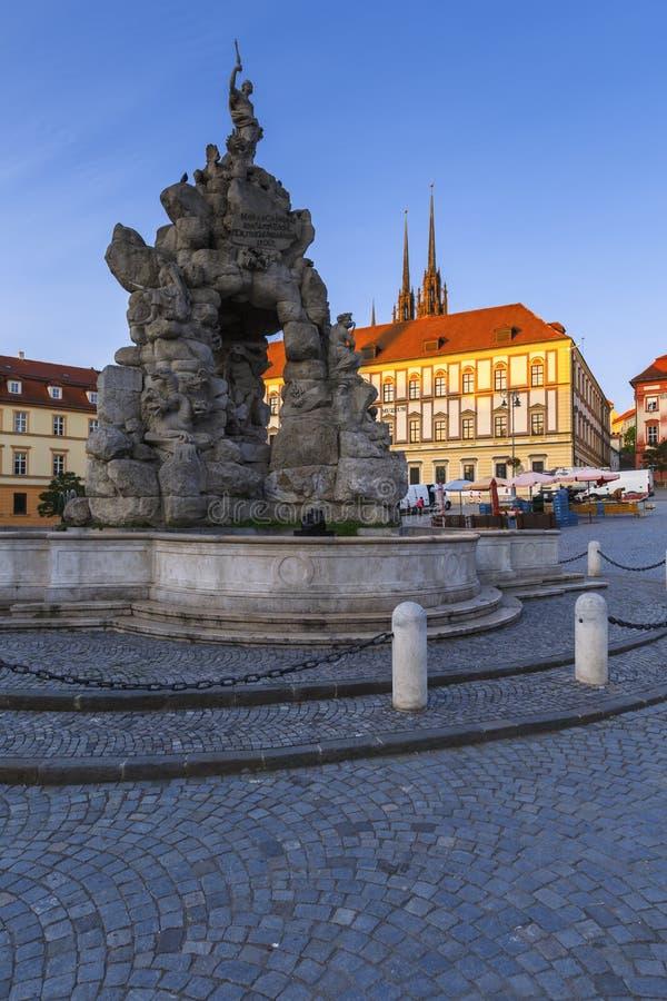 Чешская республика brno стоковая фотография rf