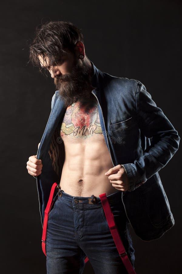 человек бороды стоковые фото