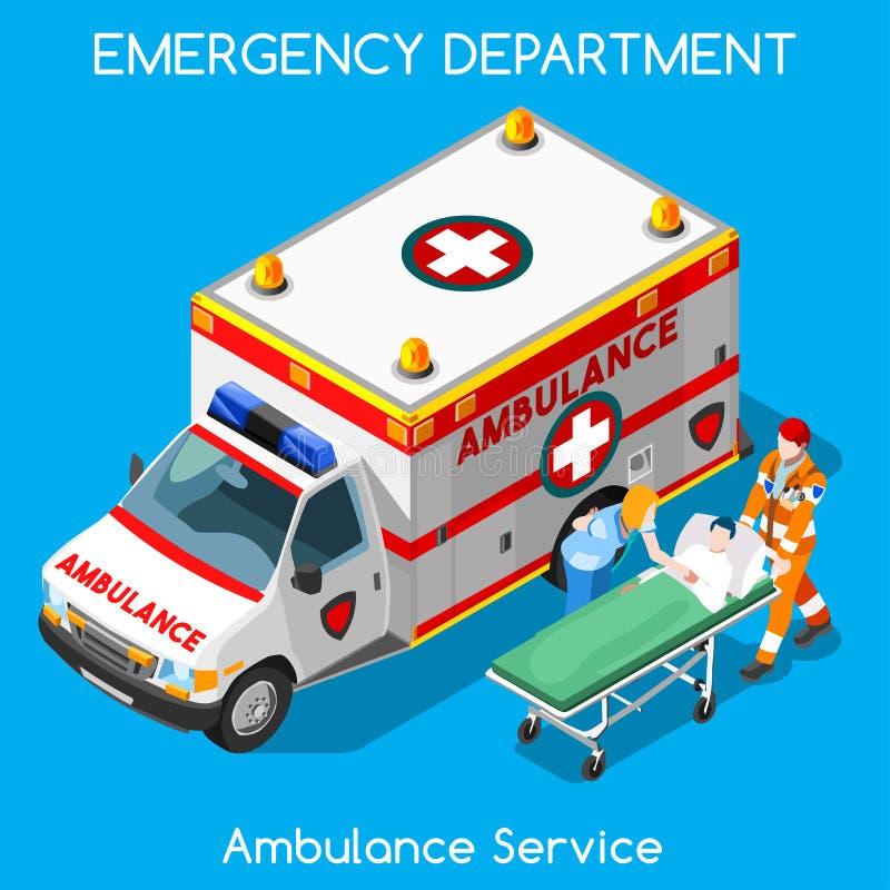 18 человек больницы равновеликое иллюстрация штока