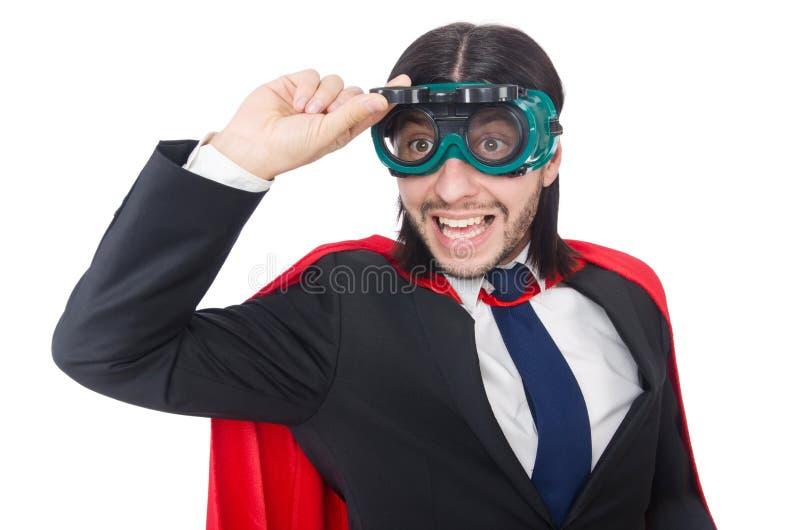 Человек в красной крышке стоковое фото rf