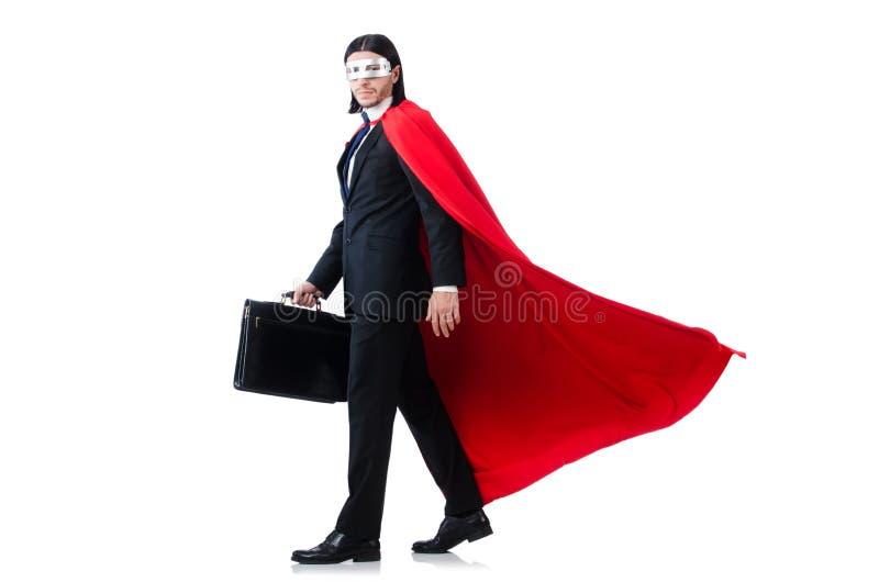 Человек в красной крышке стоковая фотография rf