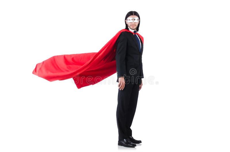 Человек в красной крышке стоковое изображение