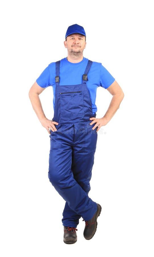 Человек в прозодежде. стоковое фото