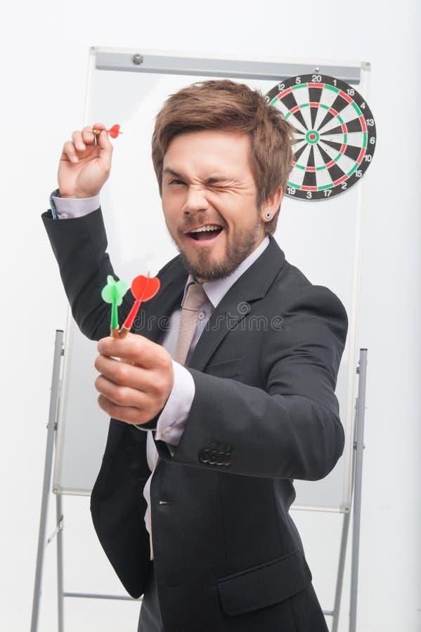 Человек и игра стоковая фотография