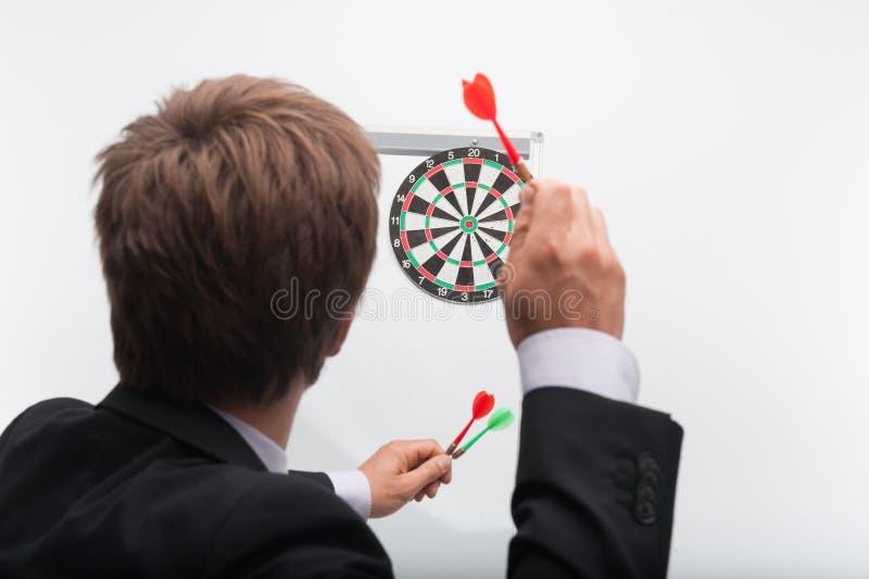 Человек и игра стоковое фото rf