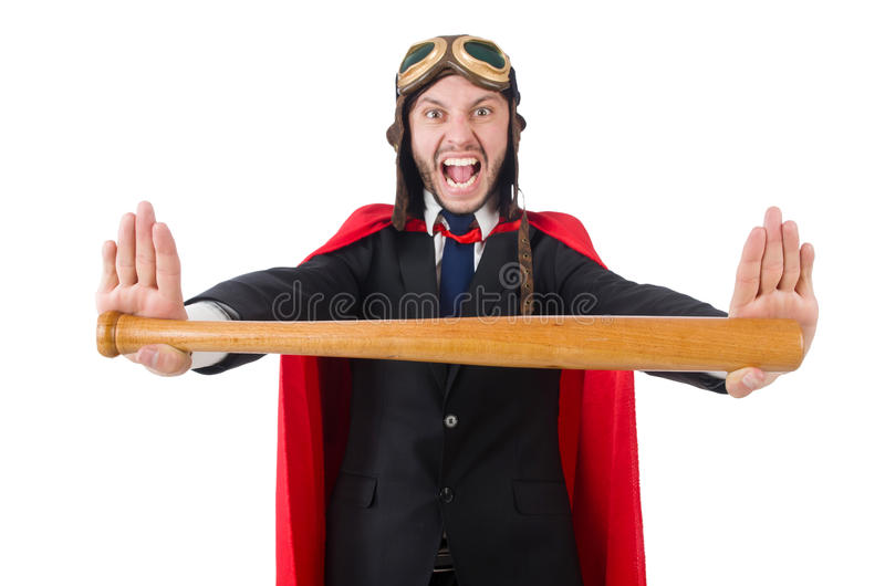 Человек нося красную одежду стоковые фото