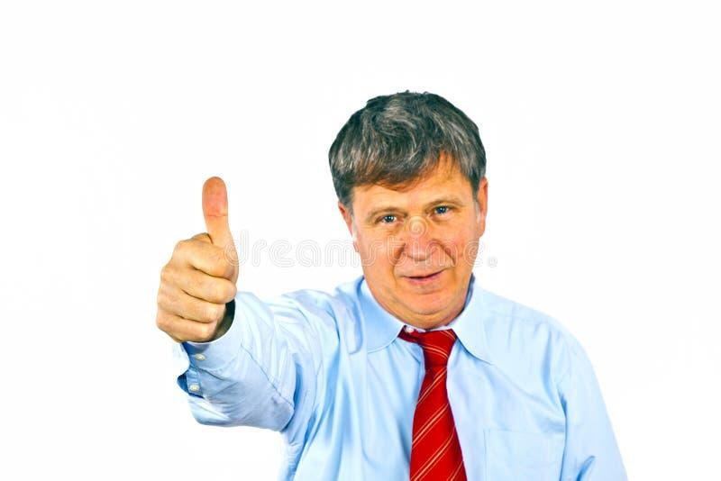 Download Человек показывает большие пальцы руки вверх Стоковое Изображение - изображение насчитывающей франтовск, мужчина: 40588905