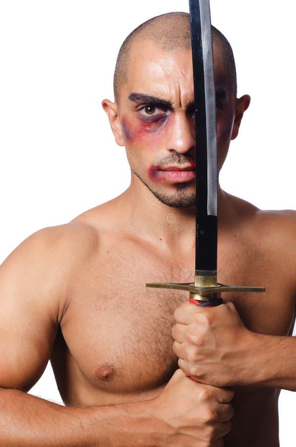 картинка полного грузного мужика с мечом
