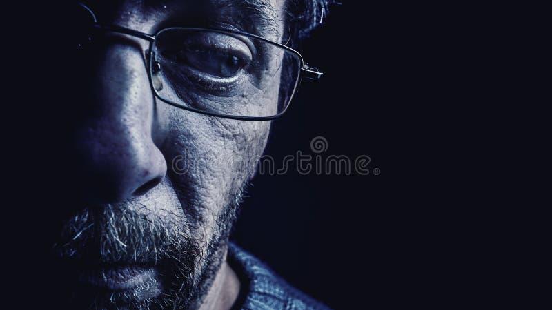 Человек среднего возраста стоковая фотография rf