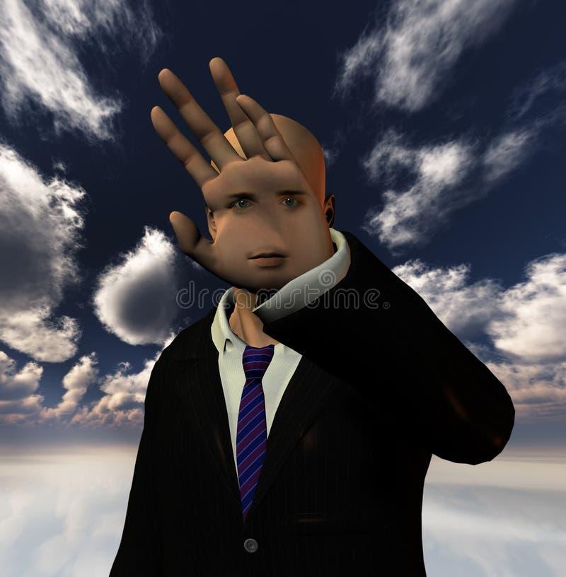 Человек фантазии бесплатная иллюстрация