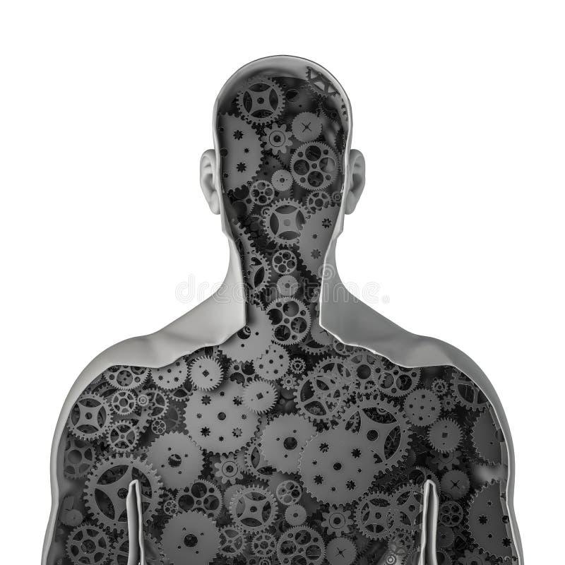 Человек Clockwork бесплатная иллюстрация