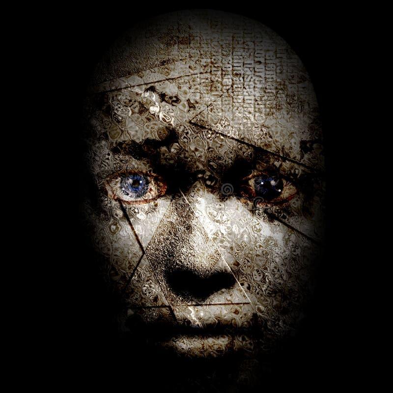 Человеческое лицо бесплатная иллюстрация