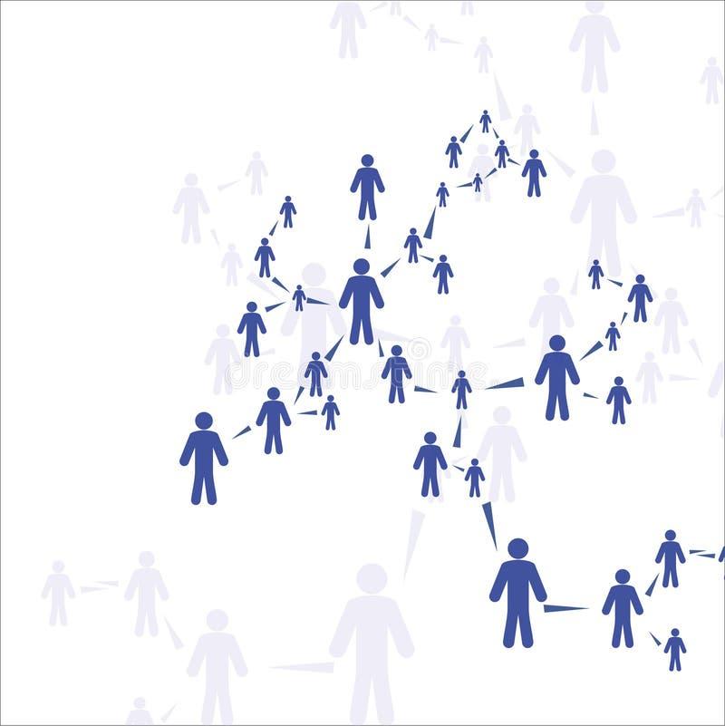 Человеческое соединение бесплатная иллюстрация