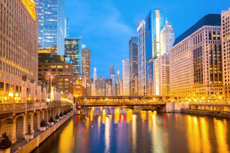 Чикаго городской стоковая фотография