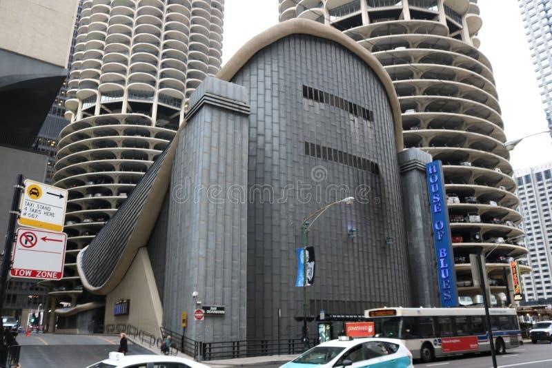 Чикаго Юоусе Оф Блуес стоковые фото
