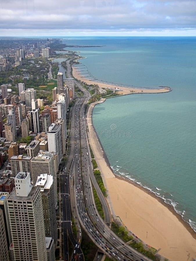 Чикаго Gold Coast стоковое изображение
