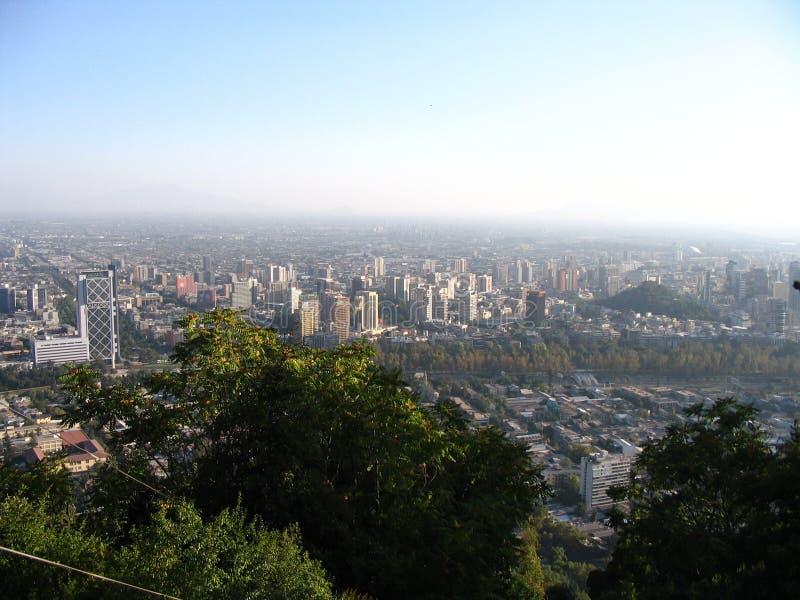 Чили de santiago стоковое фото