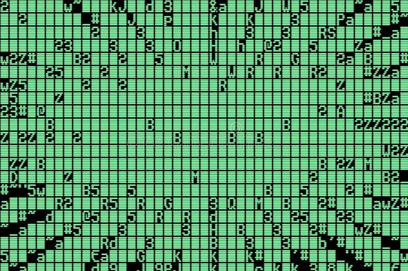 числа случайные иллюстрация штока