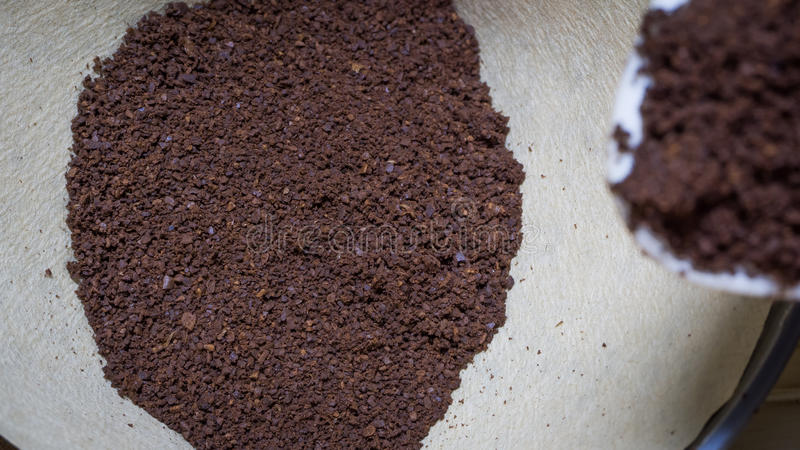 Чисто отшлифованный кофе стоковые фото