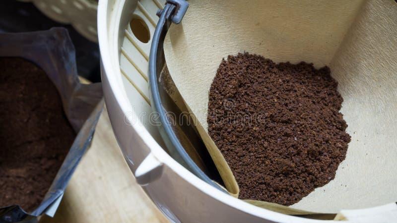 Чисто отшлифованный кофе стоковые фотографии rf