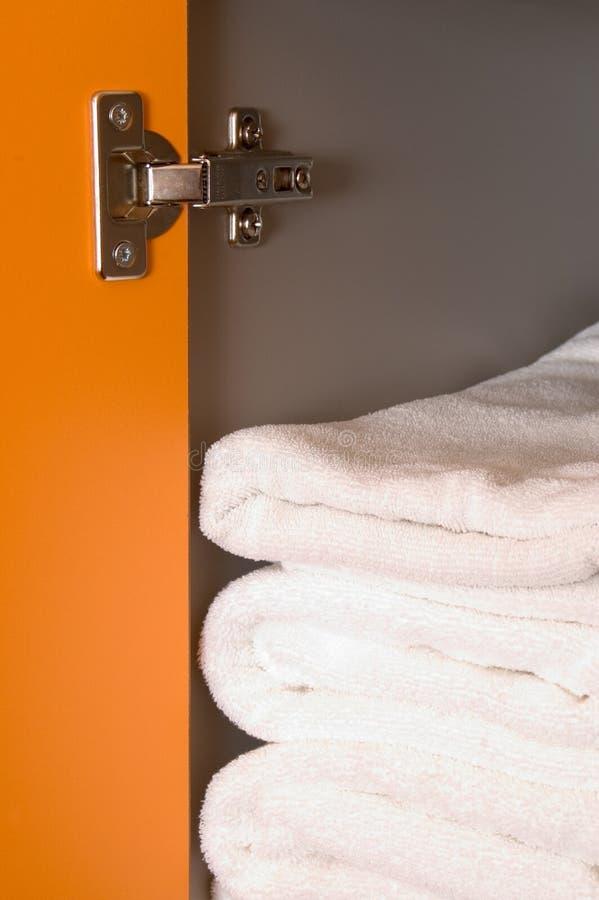 чистые полотенца стоковое фото