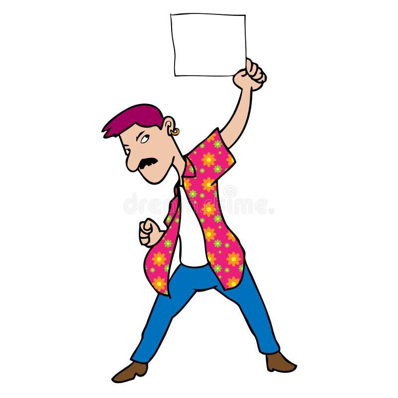 Чистый лист человека бесплатная иллюстрация