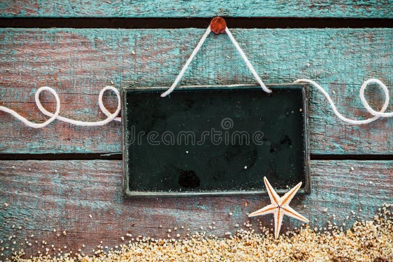 Чистый лист для ваших меню или рекламы морепродуктов стоковые изображения rf