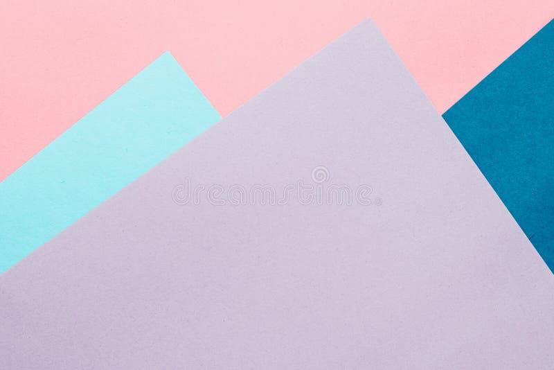 Чистый лист бумаги текстурировал предпосылку, модель-макет канцелярских принадлежностей иллюстрация вектора