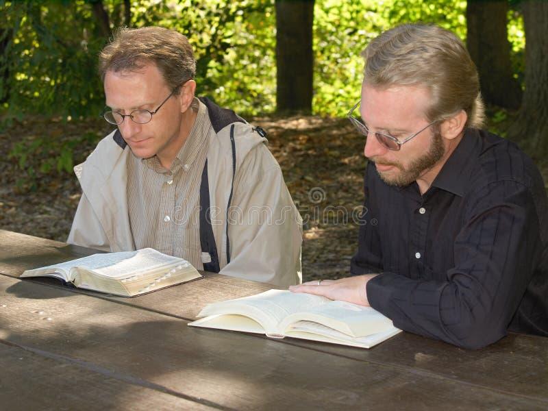 читатели библии стоковые изображения rf