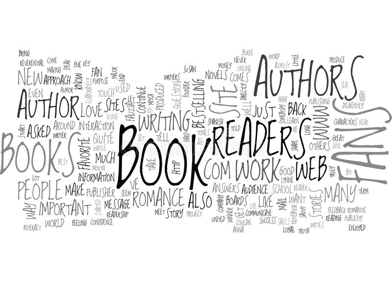 Читатели важные к облаку слова авторов бесплатная иллюстрация