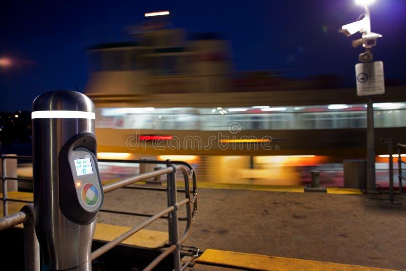 Читатель карточки Сиднея опаловый стоковое изображение rf