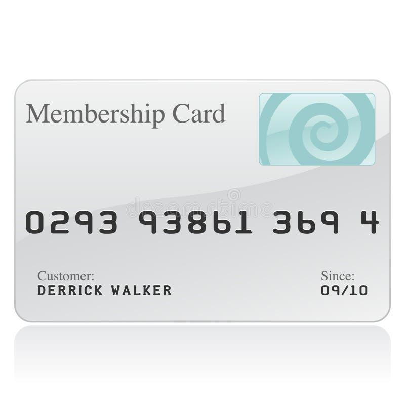 членство иконы карточки иллюстрация штока