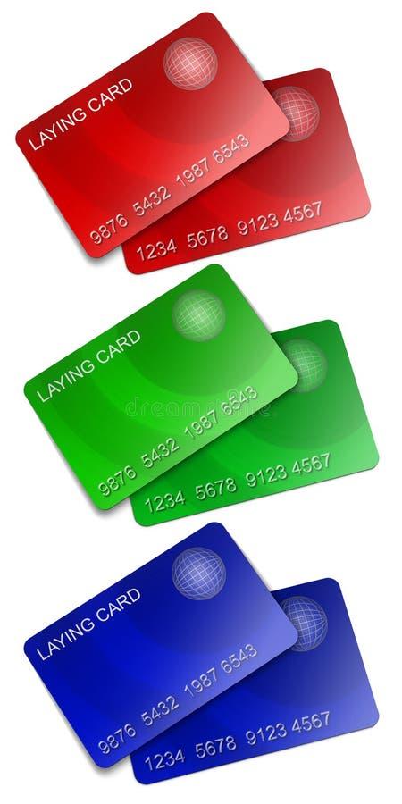 членство rgb 2 карточки иллюстрация штока