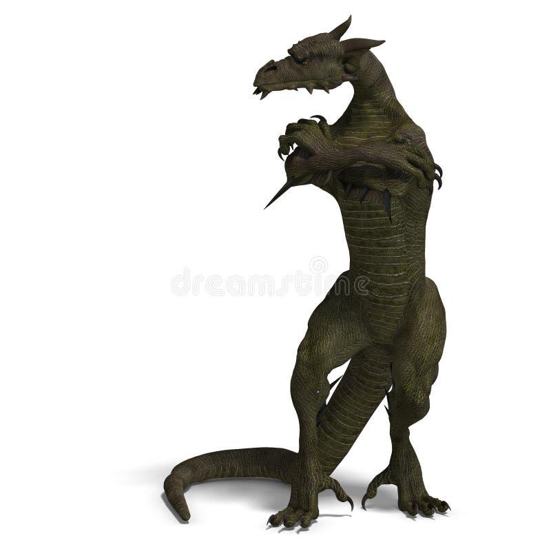 член людей фантазии дракона бесплатная иллюстрация