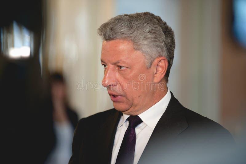 Член Yuriy Boyko парламента Украины стоковое фото rf