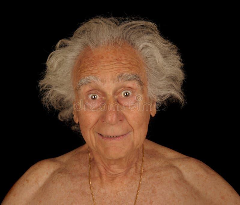 чокнутый человек стоковая фотография