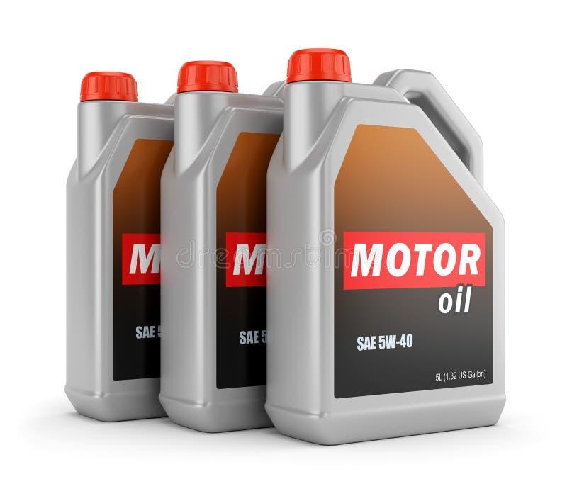 3 чонсервной банкы автотракторного масла бесплатная иллюстрация