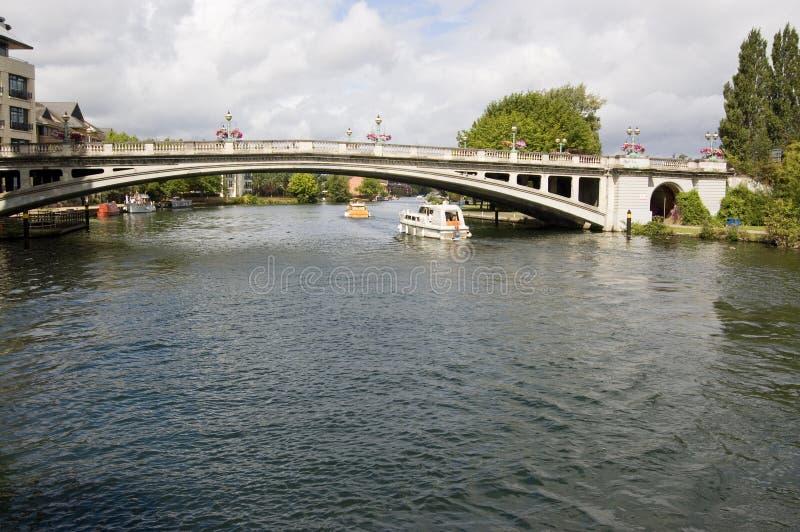 чтение моста berkshire стоковые изображения rf