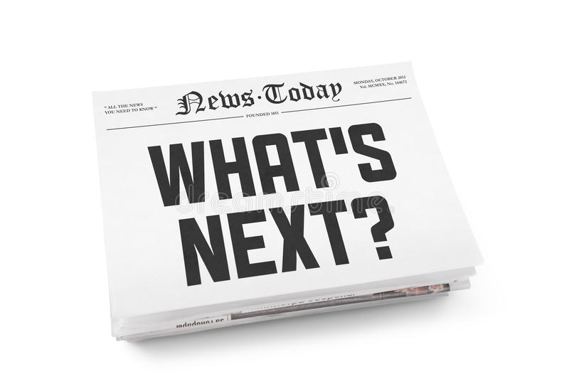 Что следующий заголовок стоковое изображение