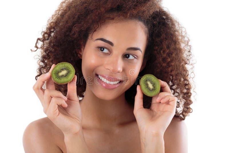 Что-то зеленое и здоровое для вашего тела стоковая фотография rf