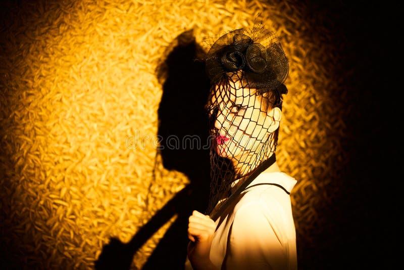 Чувственный портрет молодой женщины стоковое фото rf