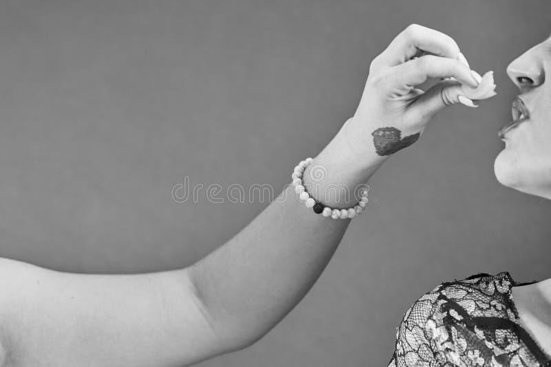 Чувственный портрет молодой нагой женщины стоковые фотографии rf