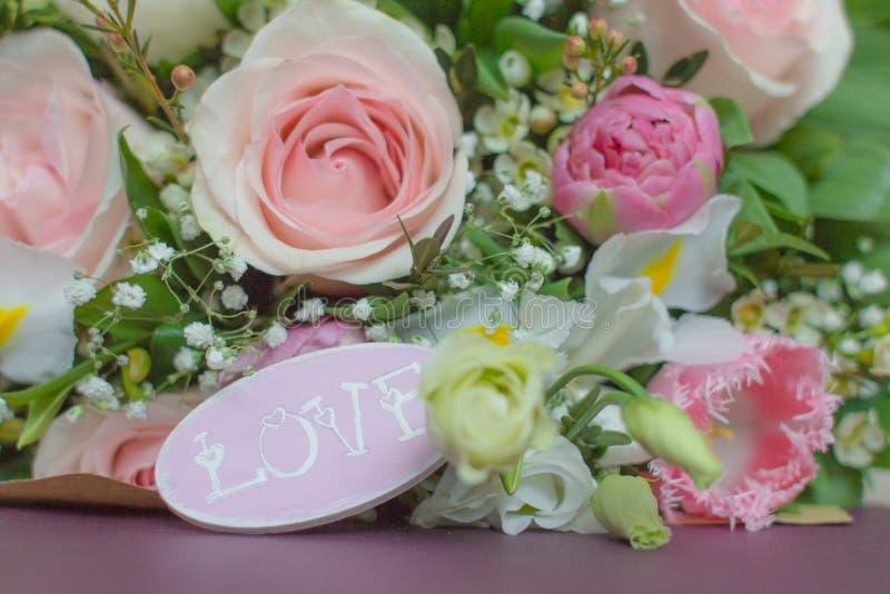 Чувствительные цветки свадьбы стоковое изображение