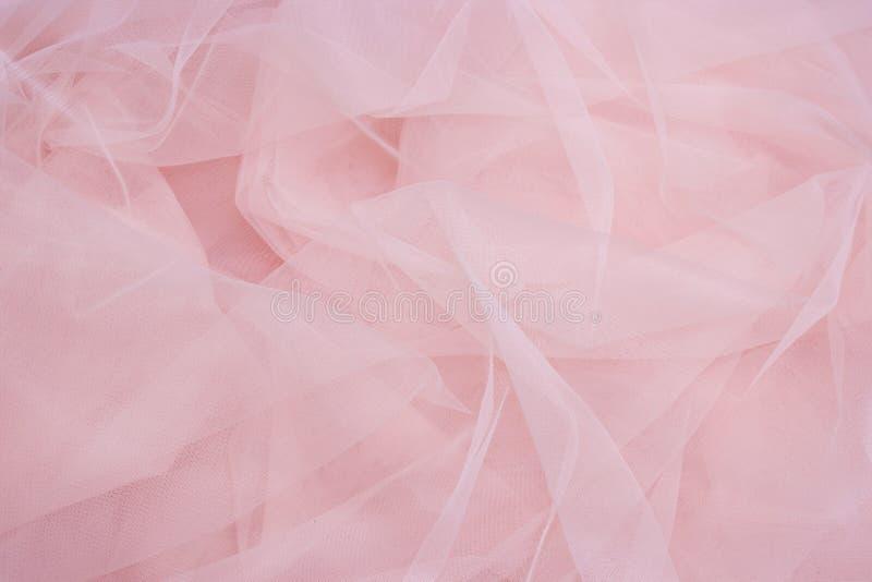 Чувствительная розовая предпосылка ткани стоковая фотография rf