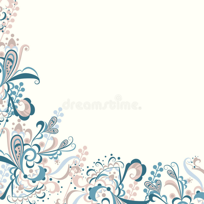 Чувствительный флористический конспект бесплатная иллюстрация