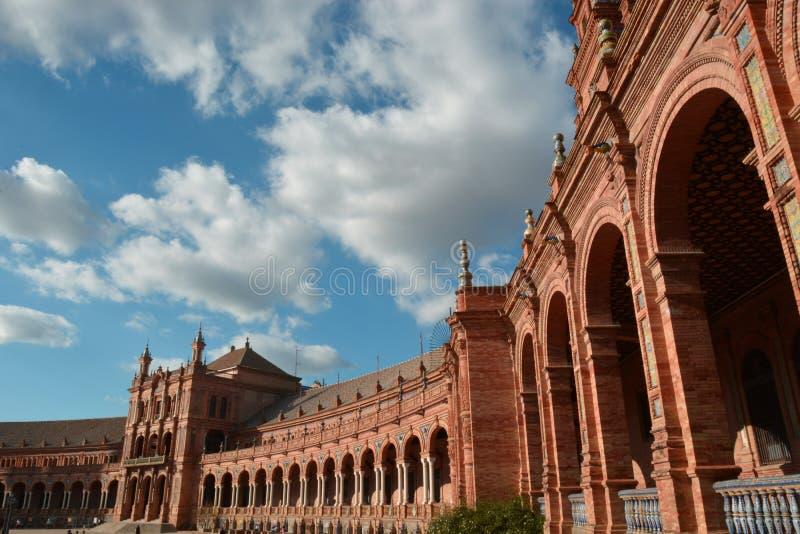 чудесная Севилья один день в ноябре стоковые фотографии rf