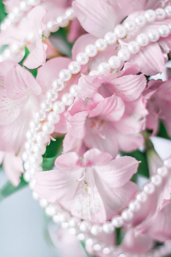 чудесные украшения жемчуга стоковые фотографии rf
