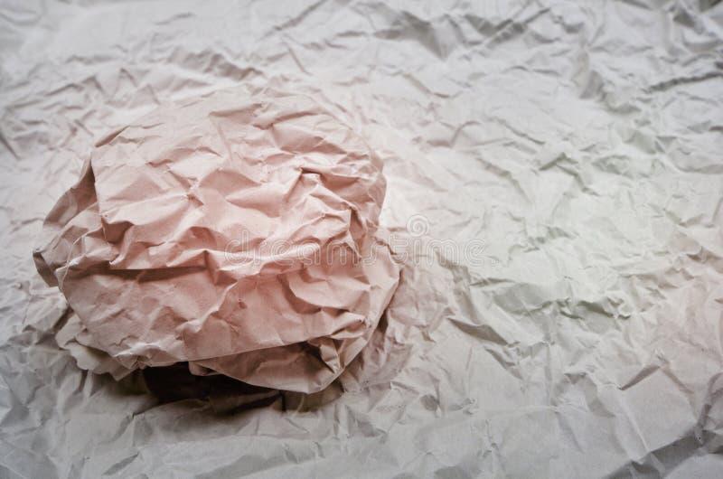Чудесные форма и картина бумаги морщинки стоковые изображения