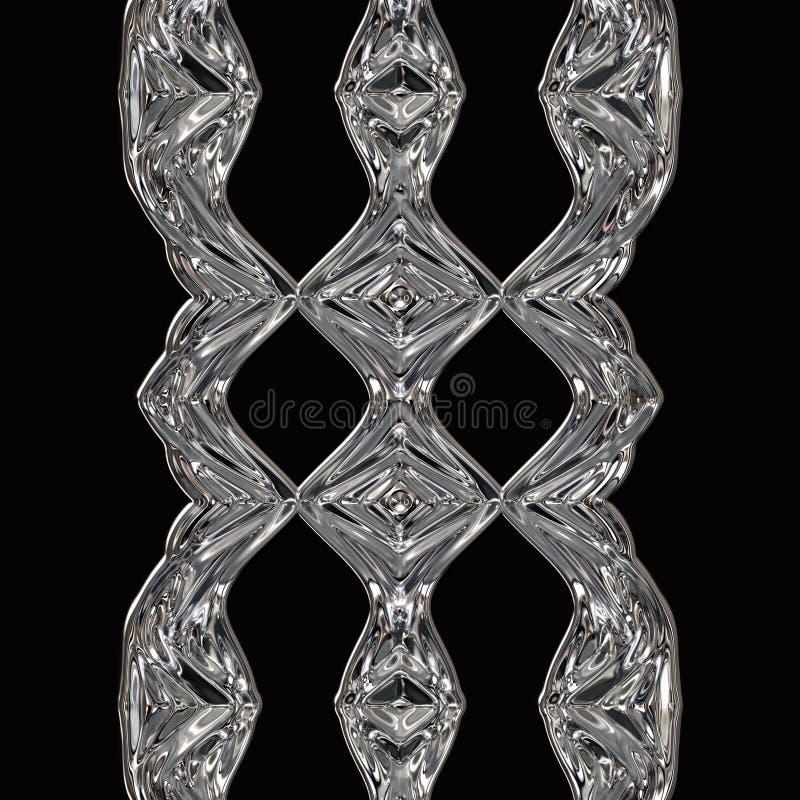 Чудесный конспект проиллюстрировал стеклянный дизайн бесплатная иллюстрация