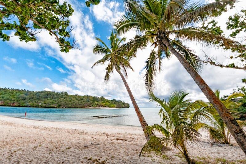 Чудесный ландшафт острова ` u vava в Кингдом Оф Тонга стоковые фото